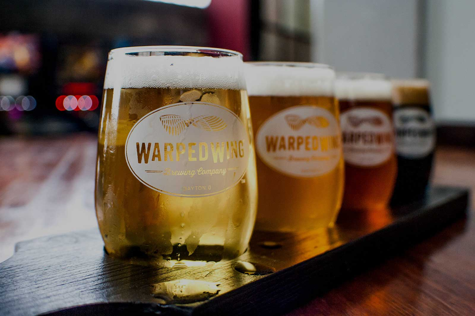 Warped Wing Beer - Downtown Dayton's Favorite Brewery